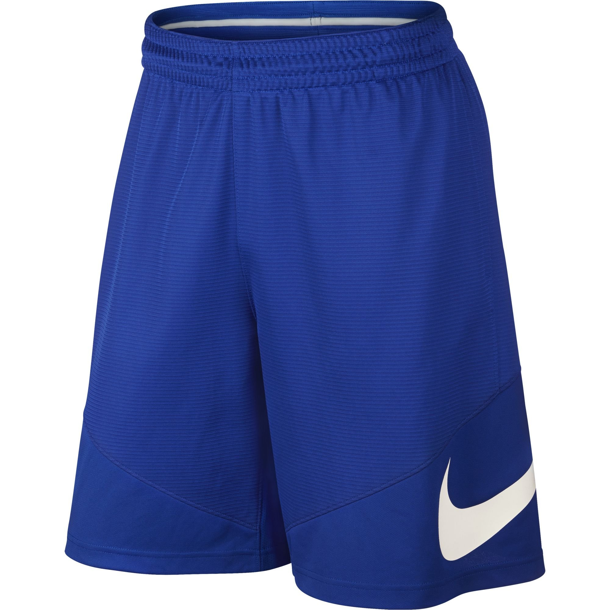 NIKE Men's Basketball Shorts, Game Royal/Game Royal/Game Royal/White, Small