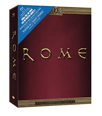 Amazoncom Rome The Complete Series Blu Ray Various Movies Tv