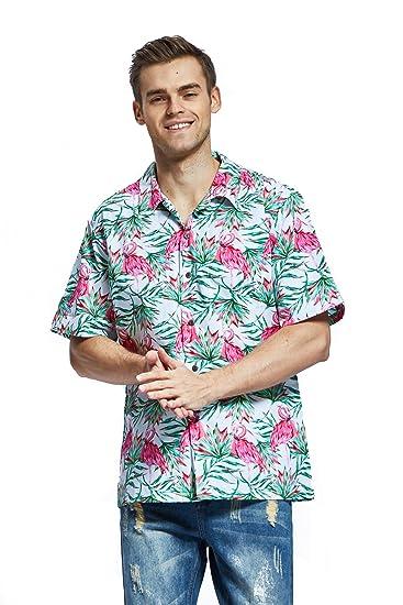Buy Hawaii Hangover Men's Hawaiian Shirt Aloha Shirt M Christmas ...