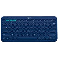 Logitech K380 Multi-Device Bluetooth Keyboard – Windows, Mac, Chrome OS, Android, iPad, iPhone, Apple TV Compatible – with FLOW Cross-Computer Control & Easy-Switch up to 3 Devices – Blue