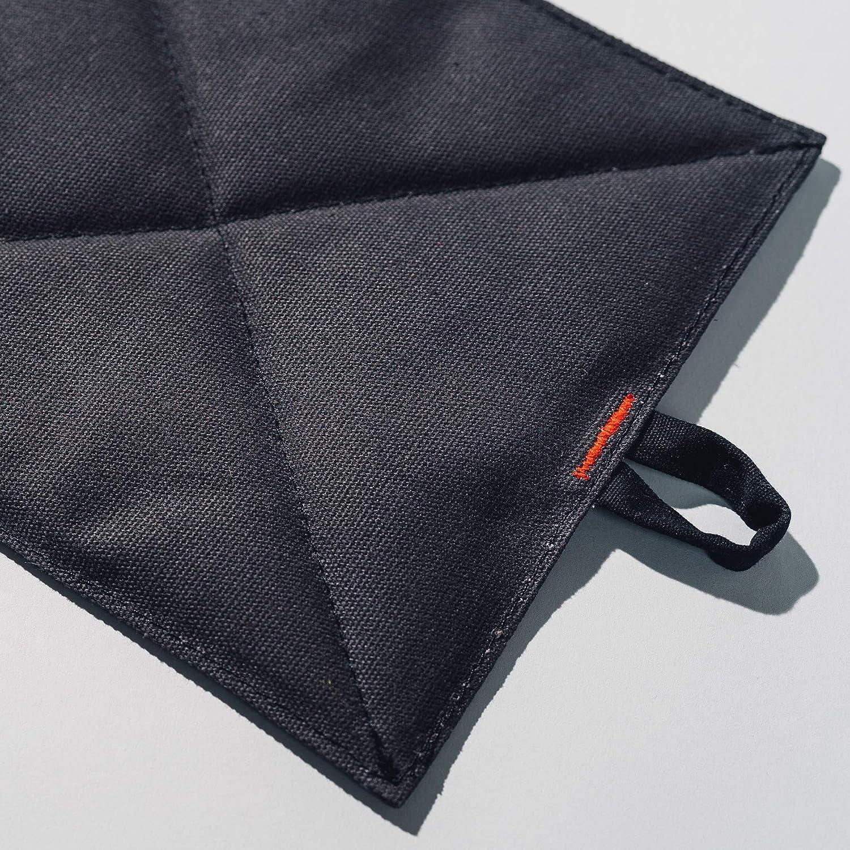"Caldo Canvas Pot Holders 7/"" x 9/"" Cobalt Insulated 100/% Cotton Canvas 2-Pack"