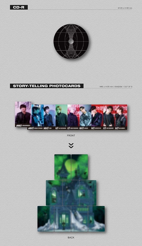 NHN Bugs GHOST9 1st Mini Album Album PRE Episode 1 : Door