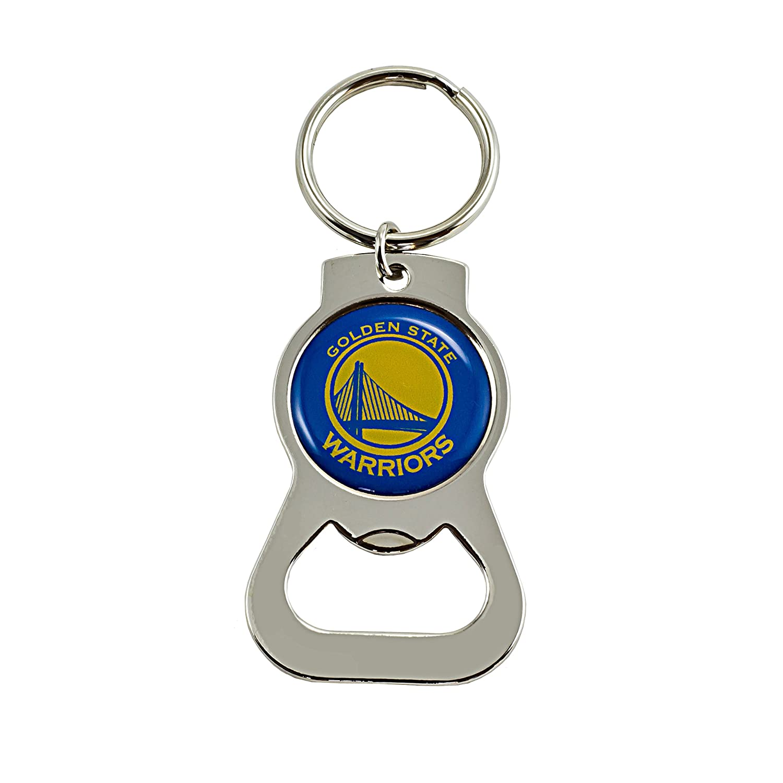 Golden State Warriors Heavyweight Metal Keychain Keyrings