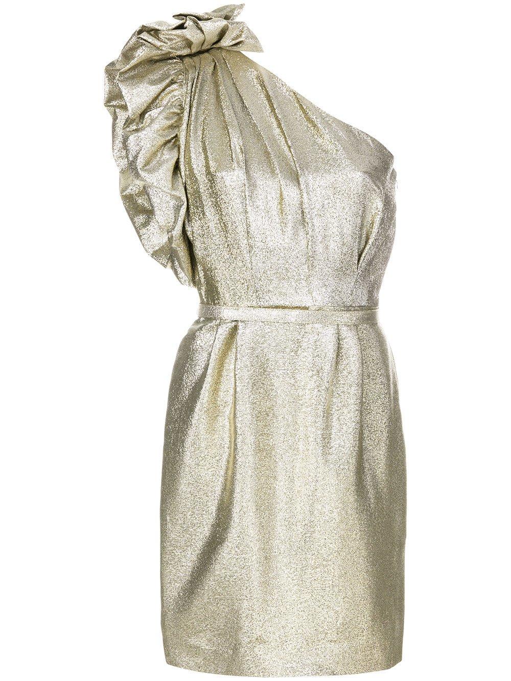 Stella McCartney Women's 503180Ska038001 Gold Polyester Dress