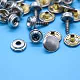 Stainless Steel Fastener Screw Snaps