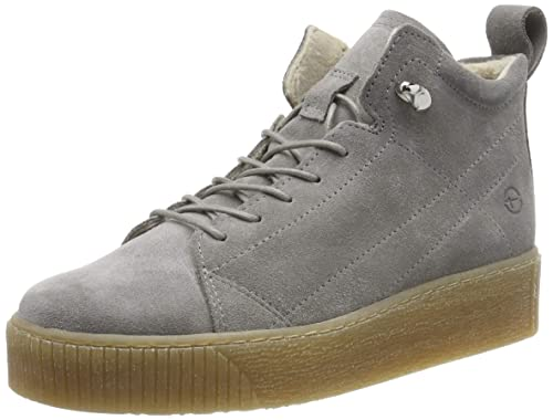 Tamaris Damen 25258 31 Hohe Sneaker, Grau (Light Grey 254
