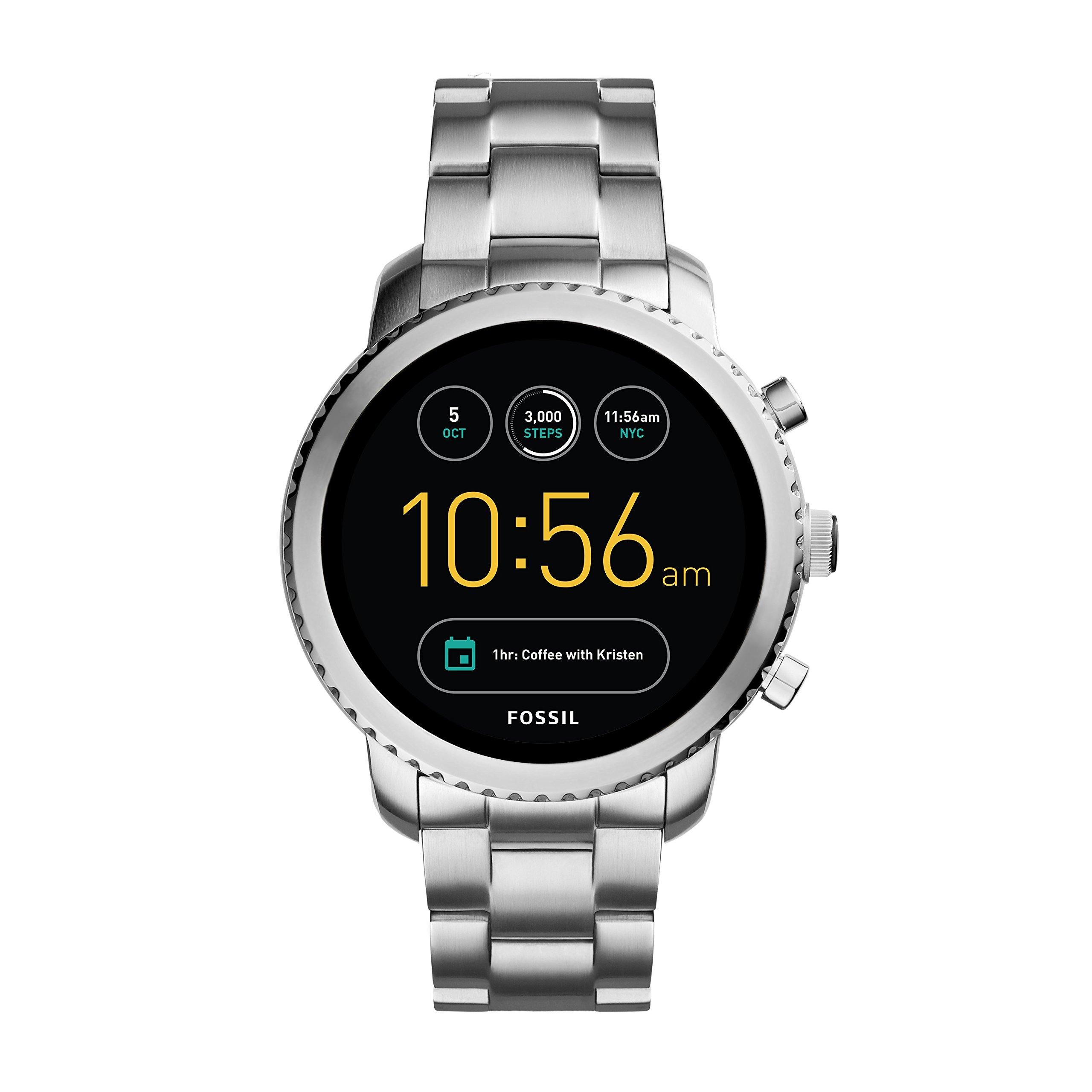Fossil Gen 3 Smartwatch - Q Explorist Stainless Steel FTW4000