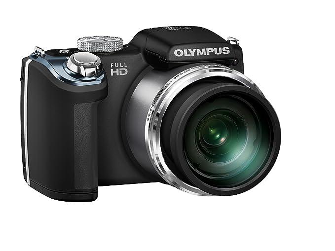 Olympus SP-720UZ 14MP 26x Opt Zoom 3-Inch LCD Digital Camera - Black