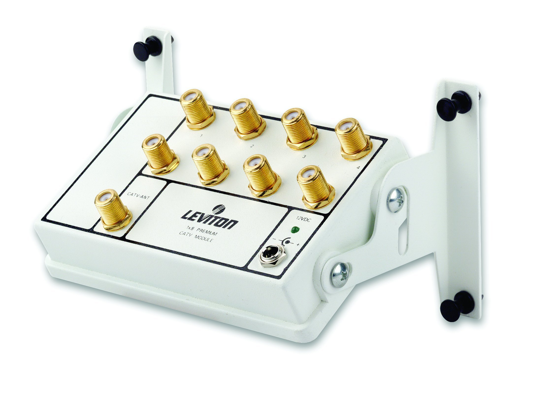Leviton 47693-8P 1x8 Premium Amplified CATV Module by Leviton