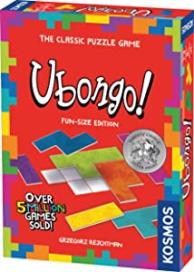 Ubongo Fun-Size Edition - A Kosmos Game from Thames & Kosmos | Geometric Puzzle Game for Kids & Families | for Ages 7+, Portable Format (696186)