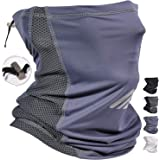 Adjustable Cooling Neck Gaiter Balaclava Bandana Face Mask Scarf Face Coverings