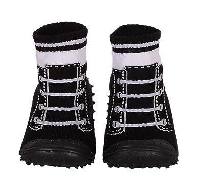 Amazon.com: Skidders bebé niños agarre zapatos estilo 1147bf ...