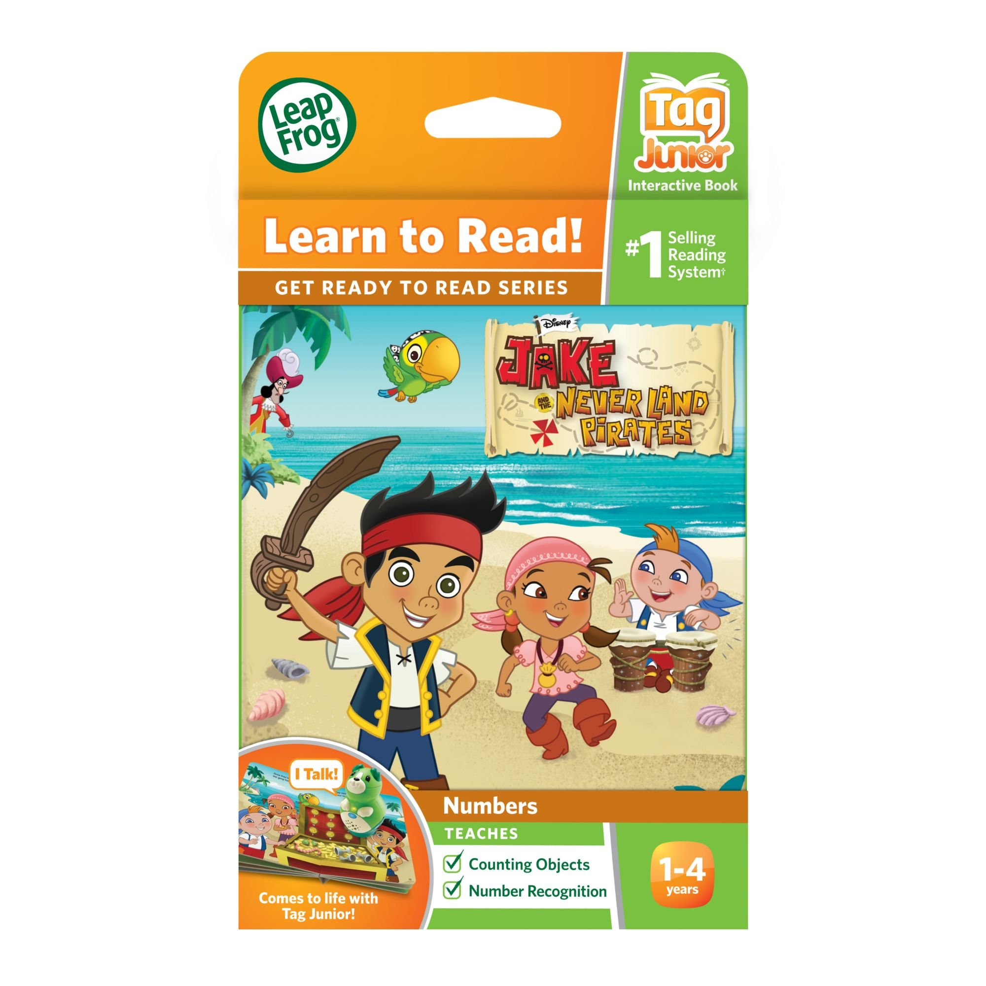 LeapFrog LeapReader Junior Book: Disney's Jake and the Never Land Pirates (works with Tag Junior) by LeapFrog (Image #4)
