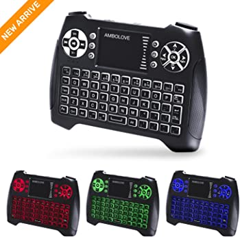 Ambolove USB Gaming Keyboard with Touchpad Mouse