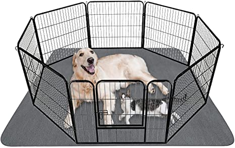 Upgrade Non-Slip Dog Pads Extra Large 72 x 72 Waterproof for Training Housebreaking Incontinence for Playpen Travel Reusable Whelping Crate Washable Puppy Pads with Fast Absorbent