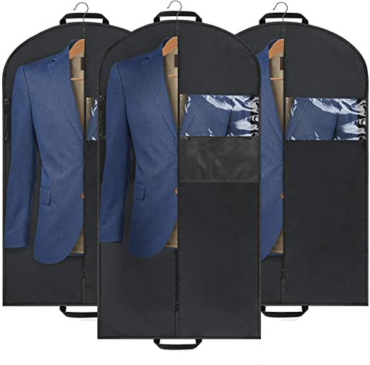 Amazon.com: Mancro - Bolsa de ropa reforzada, para trajes y ...