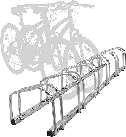 CyclingDeal 1-5 Bike Floor Parking Rack Storage Stand Bicycle