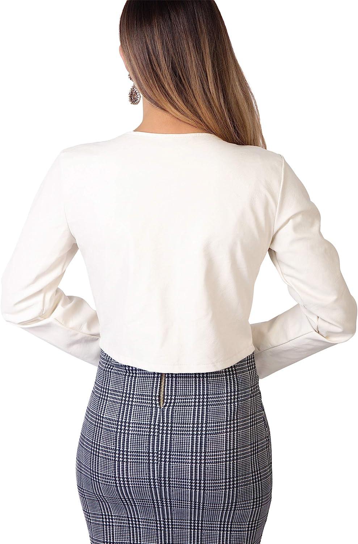 KRISP Veste Femme Chic Grandes Tailles Mode