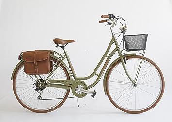 Bicicleta Nostalgia Mujer Made in Italy Via Veneto, verde oasi ...