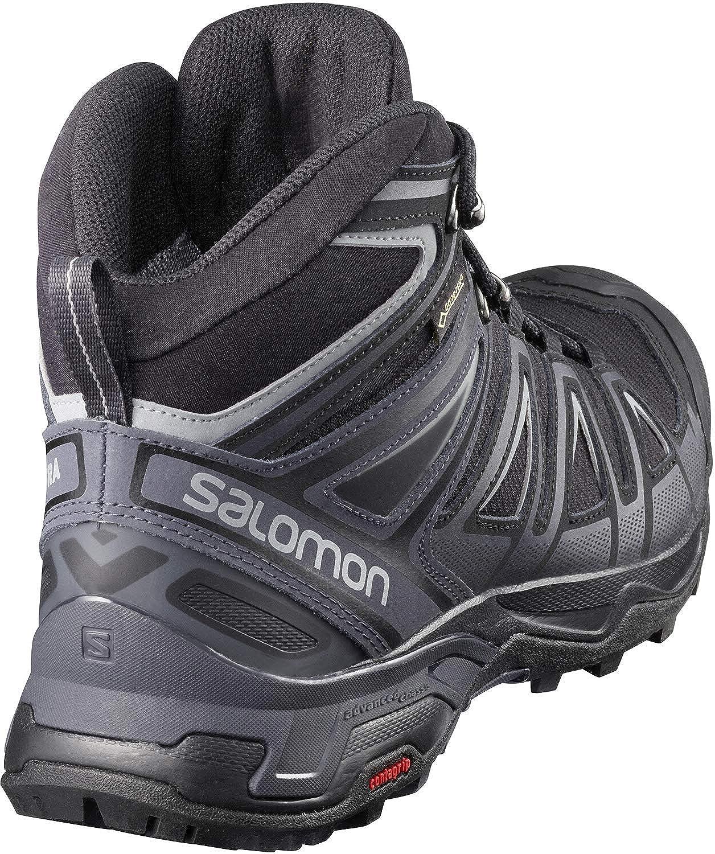 SALOMON X Ultra 3 Mid GTX Herren-Wanderschuhe 398674 Black//India Ink Gr UK 13,5 49 1//3