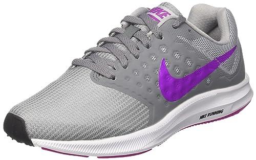 pretty nice af286 2fdda Nike WMNS Downshifter 7 Scarpe da corsa Donna, Grigio (Cool Grey Hyper  Violet