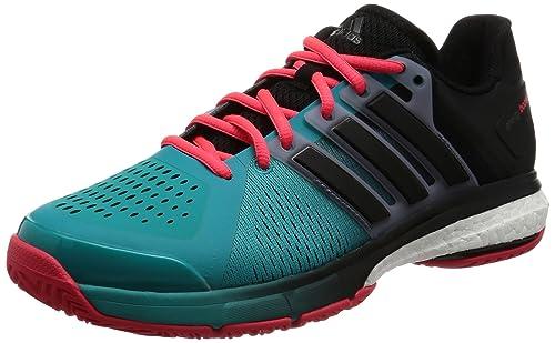 half off c087e e68eb Adidas Tennis Energy Boost, Scarpe da Ginnastica Unisex Adulti, GreenBlack   Red (VerimpNegbas  Rojimp), 42 23 EU Amazon.it Scarpe e borse