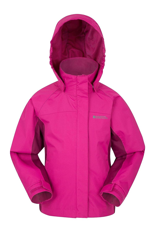 Mountain Warehouse Shelly II Kids Jacket - Waterproof Summer Coat