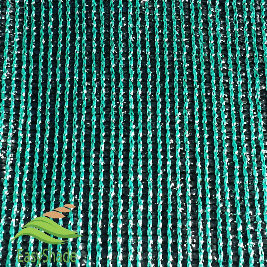 EasyShade Grn60 Sunblock Green 60% Shade Cloth UV Resistant Fabric 10ft x 10ft
