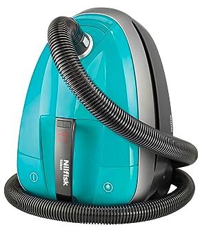 Nilfisk Select Comfort Allergy Aspirador de Trineo, 220-230 V, con Bolsa, 2.7 litros, 69 Decibelios, Aqua