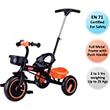 Luvlap Elegant Baby Tricycle, Orange