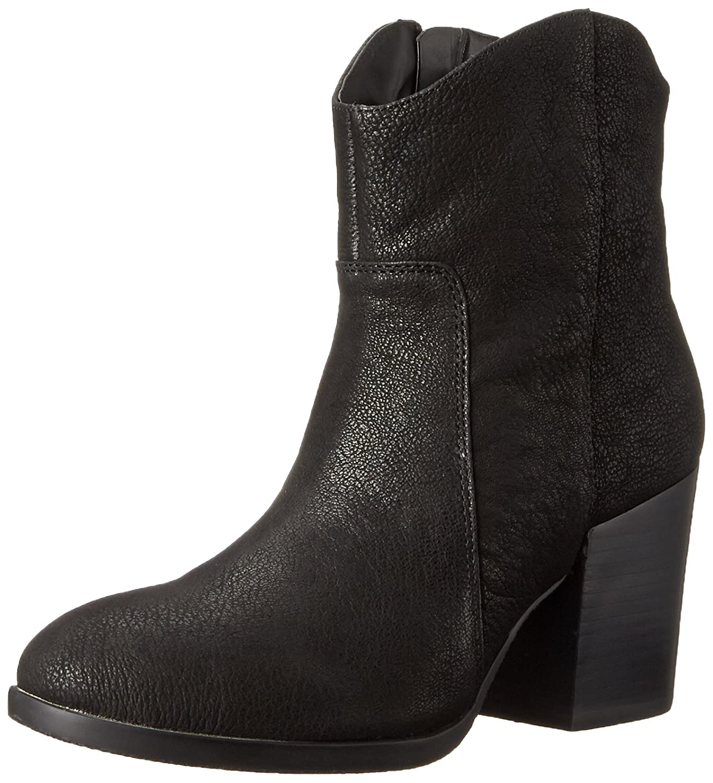 Nine West Women's Rubble Leather Boot B011EHKPWU 7.5 B(M) US|Black