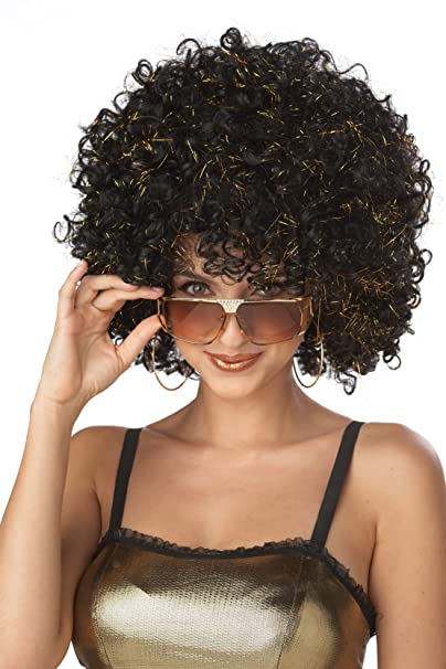 Amazon.com: Disfraces de California Negro Disco Glitter ...