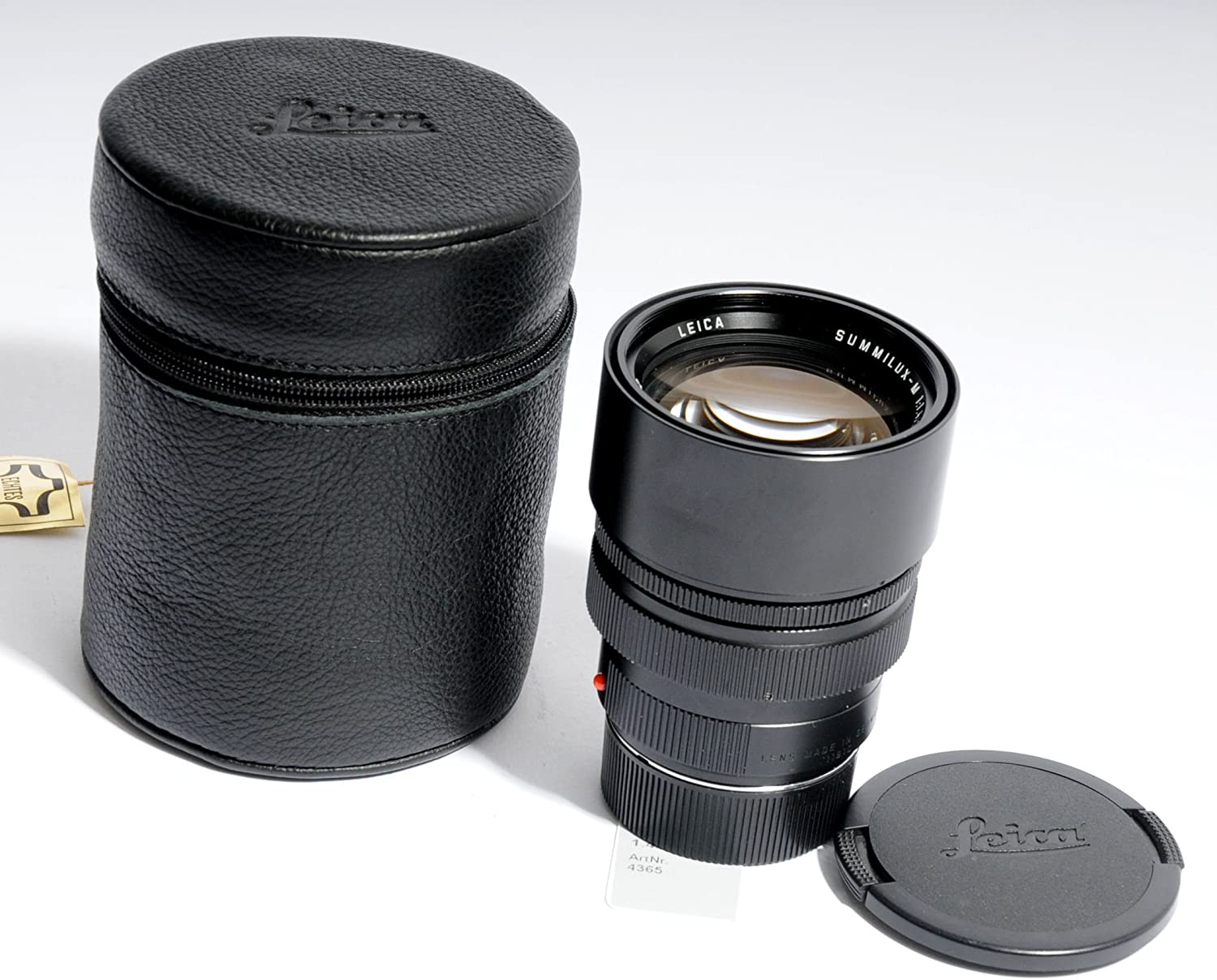 Gadget Place Black Vented Metal Lens Hood with Cap for Leica Summarit-M 35mm f//2.5