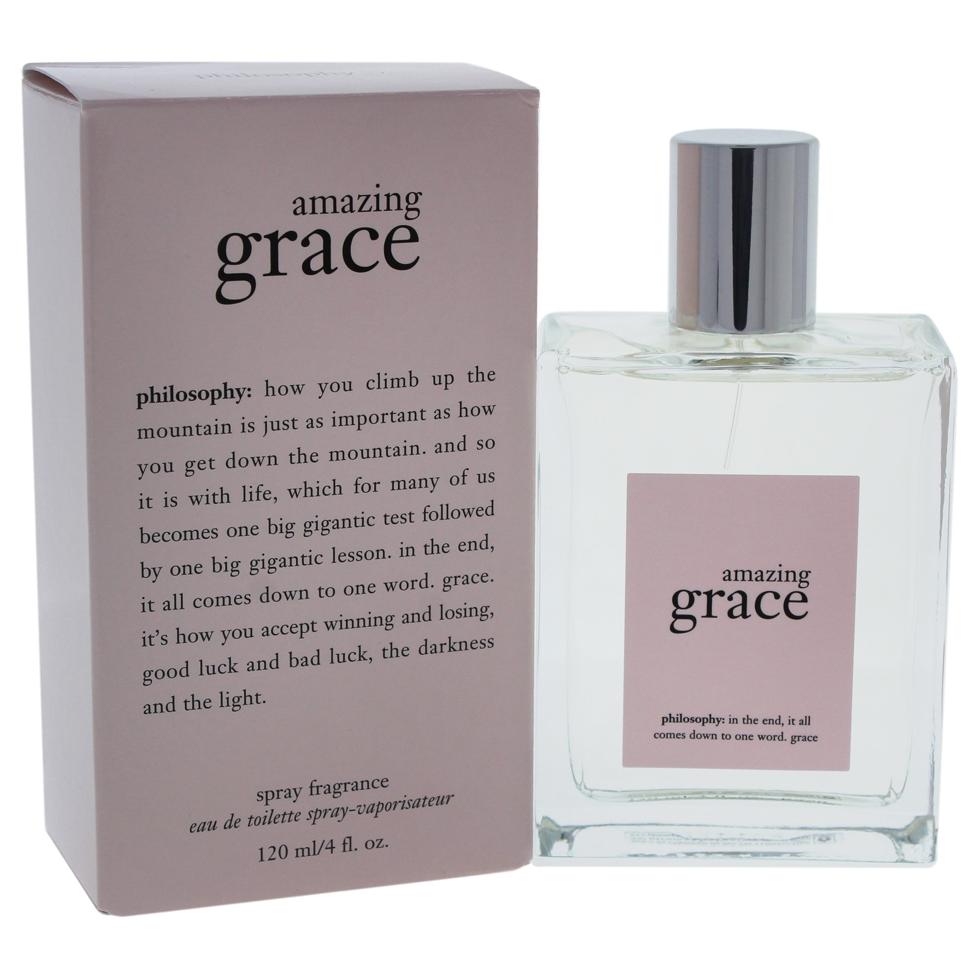 Philosophy Amazing Grace Spray Fragrance, 4-Fluid Ounce