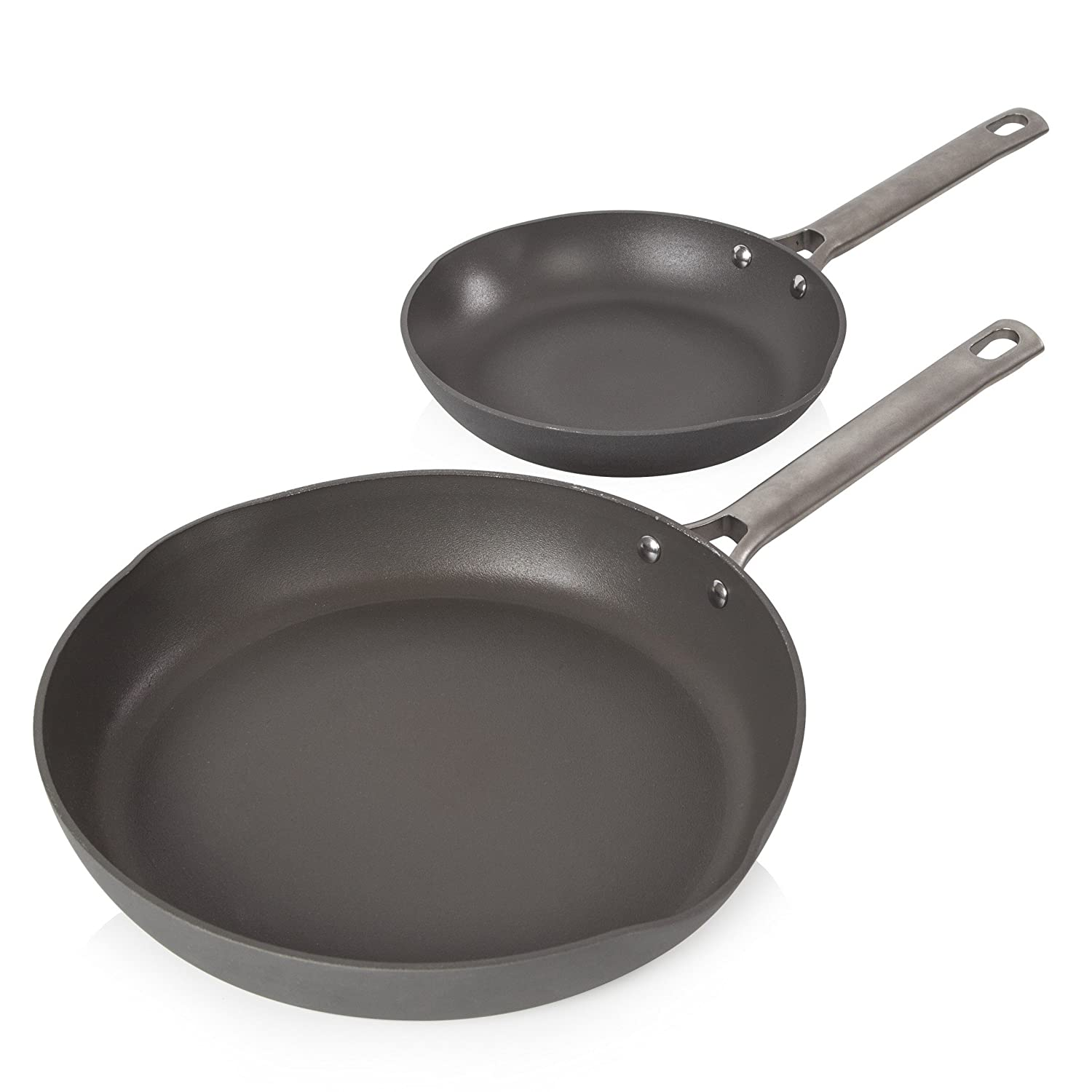 Details about Tower Pro Hard Anodised Frying Pan Set with Easy Clean  Non-Stick Ceramic Coating