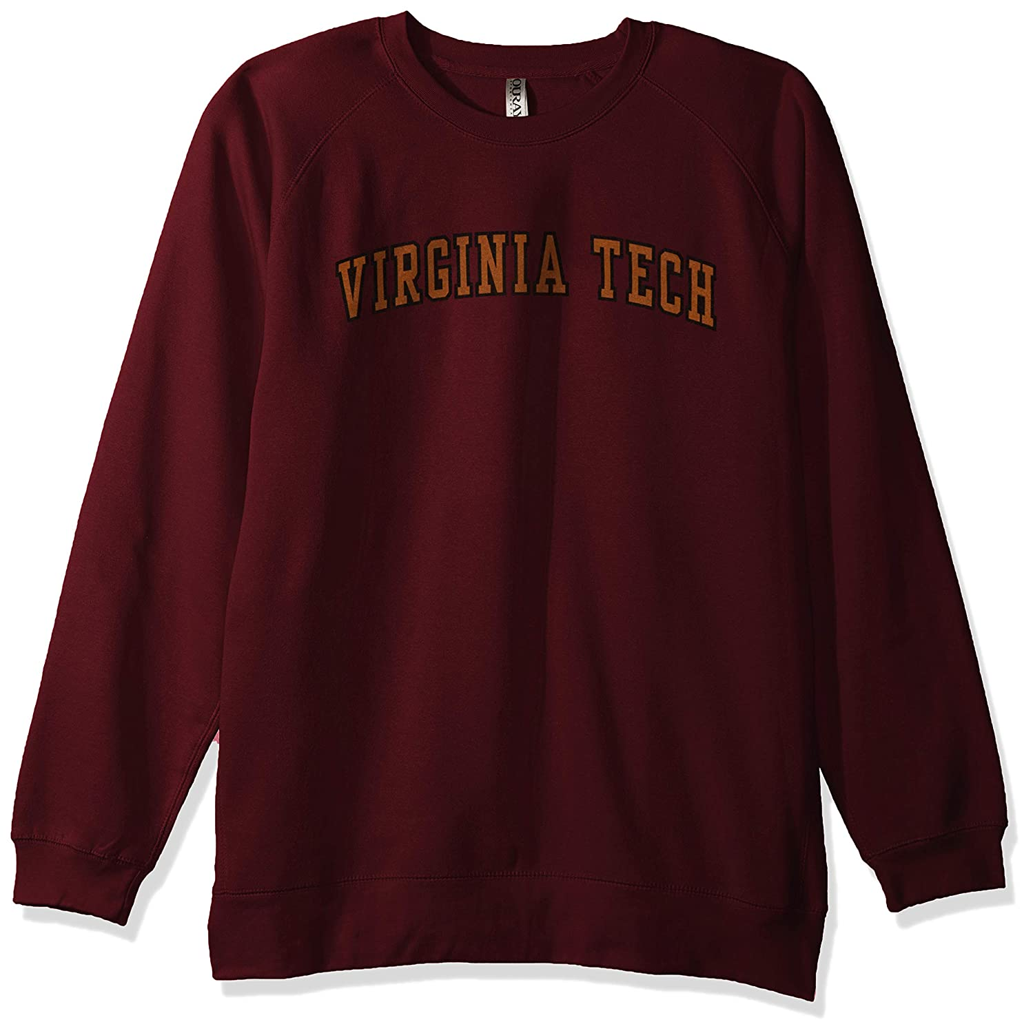 Ouray Sportswear NCAA Virginia Tech Hokies Mens Benchmark Crew Sweatshirt X-Large Maroon