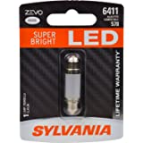 SYLVANIA ZEVO 6411 41mm Festoon White LED Bulb, (Contains 1 Bulb)