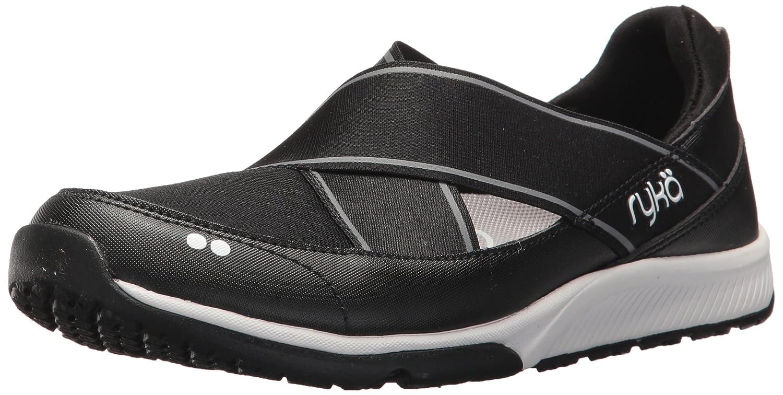 Ryka Women's klick Sneaker B07577XRYL 9.5 B(M) US|Black/White