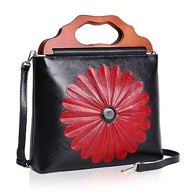 APHISON Womens Purses and Handbags Ladies Designer Satchel Tote Bag  Shoulder Bags (1-BLACK b1c39ec652