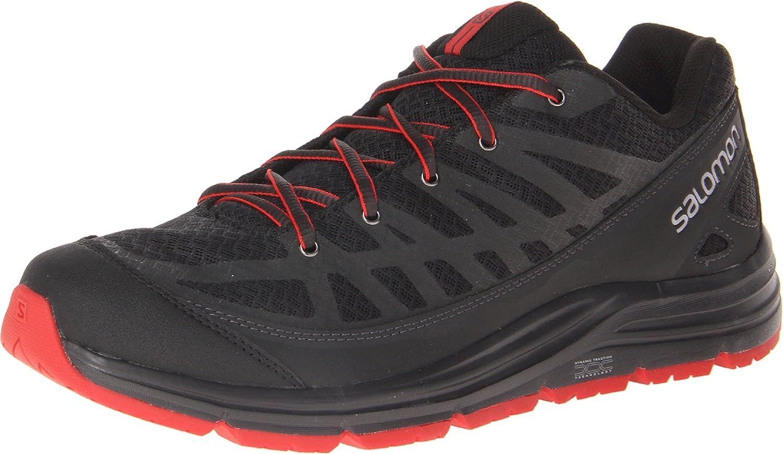 Salomon Men's Synapse Access Hiking Shoe, BlackAsphalt