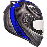 Capacete Ebf E0X Spectro 58/Preto Fosco/Azul