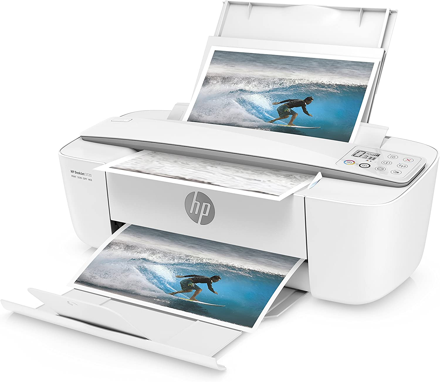 HP DeskJet 3720 AiO - DeskJet 3720 All-in-One printer: Amazon.es ...