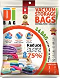 DIBAG ® Combo Set - 14 Bags Pack - Vacuum Storage Space Saver Bags.45*57cm*4pcs+67*100cm*3pcs+54*85cm*4pcs+travel up45*57cm*3pcs