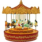 "Mr. Christmas 12"" Golden Era Carousel"