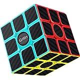Gritin Cubo Mágico, Cubo de Velocidad 3x3x3 Puzzle Inteligencia Mágico Speed Cubo Rompecabezas y Fácil Giro, Súper…