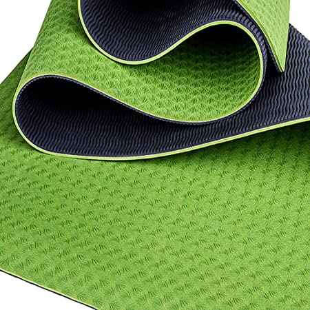 Amazon.com : YONGLIANG Outdoor Supplies TPE Yoga Mat Widened ...