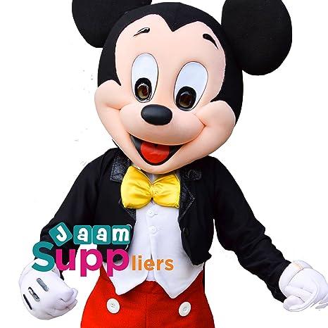 Mickey Mouse mascota disfraz [Deluxe diseño 2018]...: Amazon.es ...