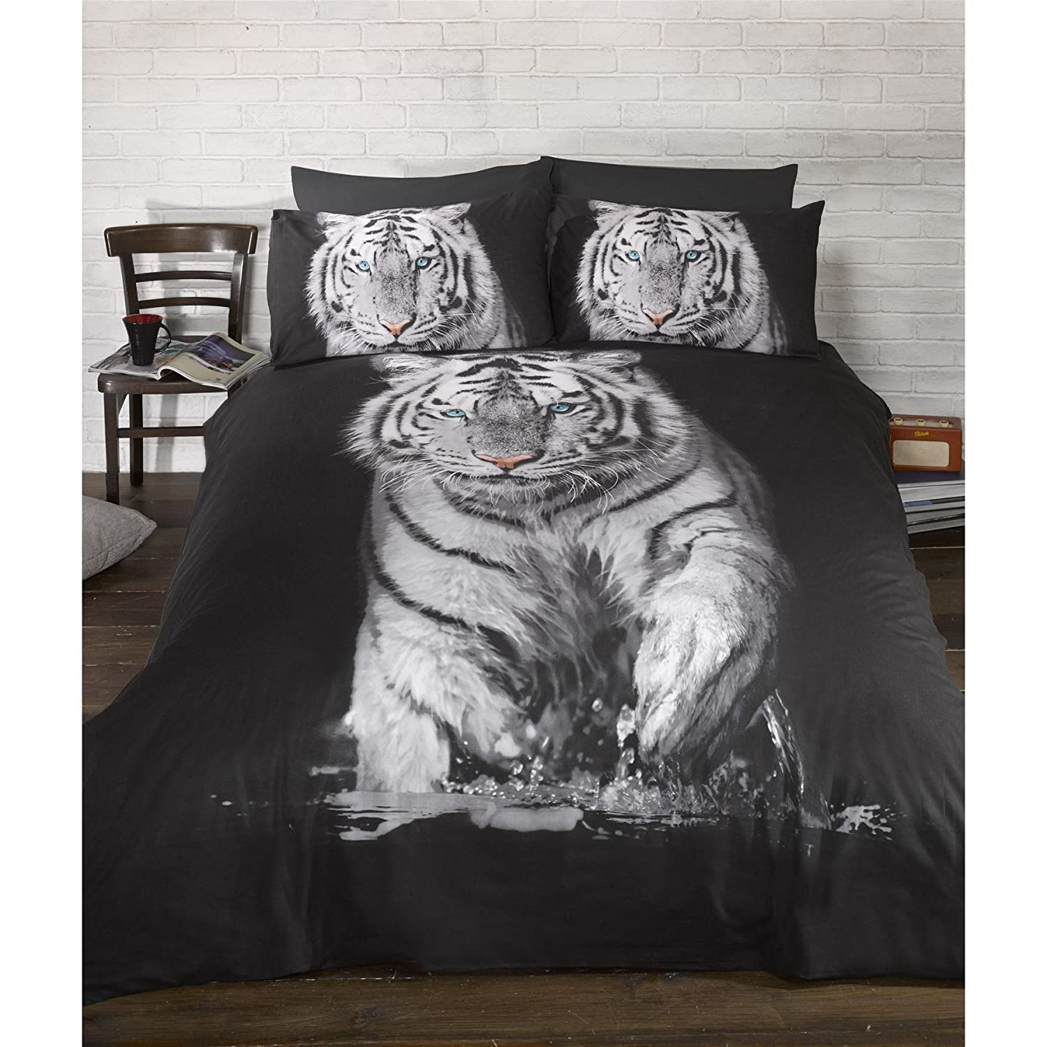 Tiger and Jungle Theme Bedding - Ease Bedding with Style