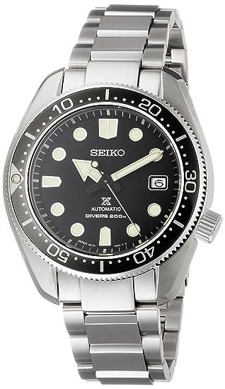 Seiko Reloj de Hombre automático 44mm Correa y Caja de Acero SBDC061: Amazon.es: Relojes