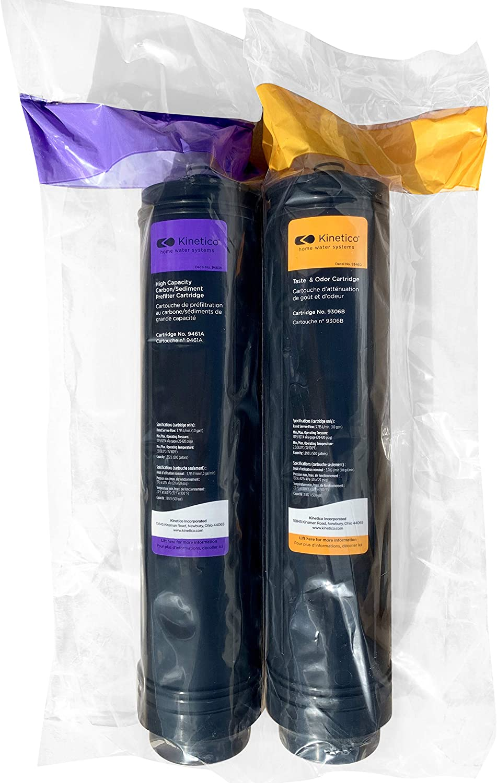 Kinetico K5 Reverse Osmosis Set of Taste Odor 9306B & Carbon Sediment Filter 9461A